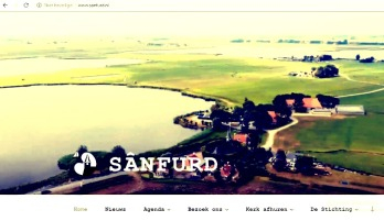 nieuwe website stichting sanfurd