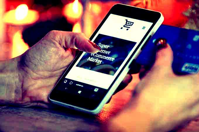 smartphone online website bezoeken