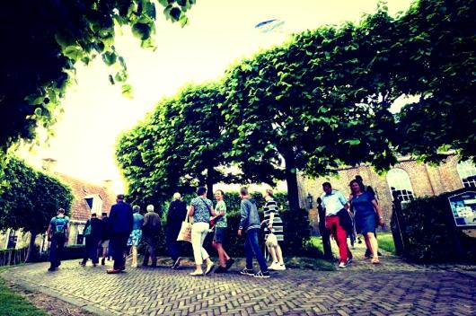groepsreis bezichtigen kerk sanfurd friesland
