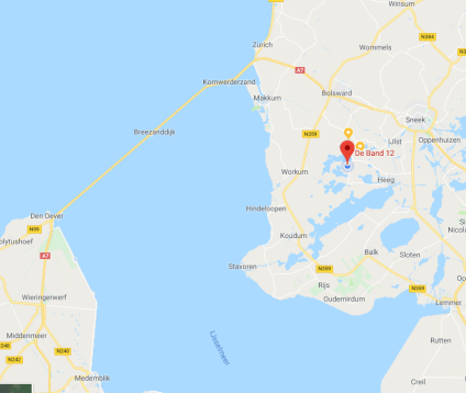 locatie op de kaart