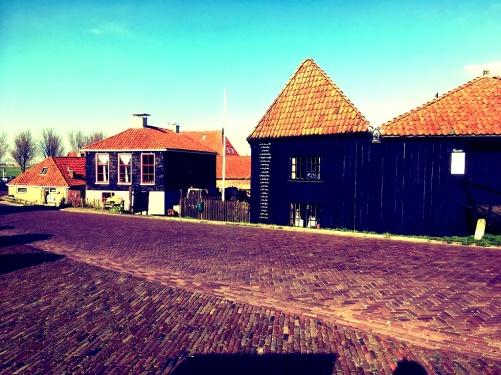 workum oude haven bij de sluis